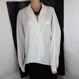 Christian Dior Chemises White Blouse
